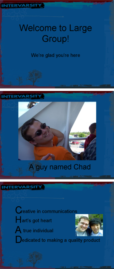 A Guy Named Chad